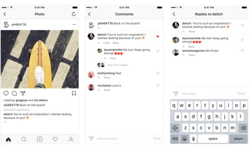 Instagram Updates Comments Layout to Rationalize Replies