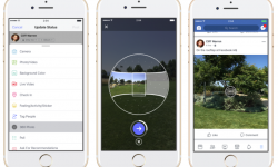 Facebook Makes It Easier to Take 360 Photos, and Use Them as Cover Images
