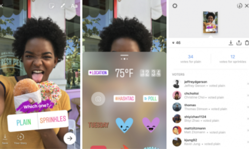 Instagram Adds Polls in Stories, New Creative Tools